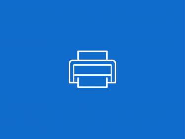 Desktop-Drucker (Icon)